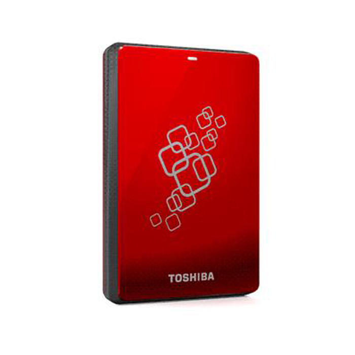Toshiba 500GB Canvio 3.0 Pocket Red(HDTC605AR3A1)