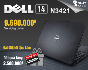 Dell N3421 GVGS Right Main