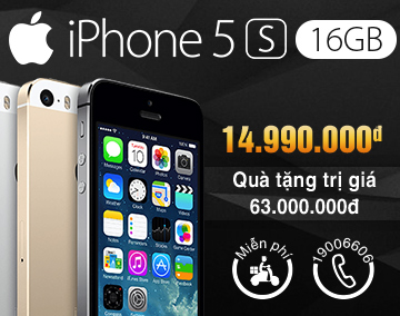 iPhone 5S 16GB Right Main