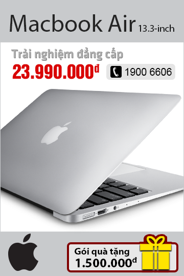 Macbook air - chi tiết sp
