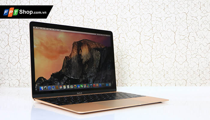 The new MacBook 12 mach dien