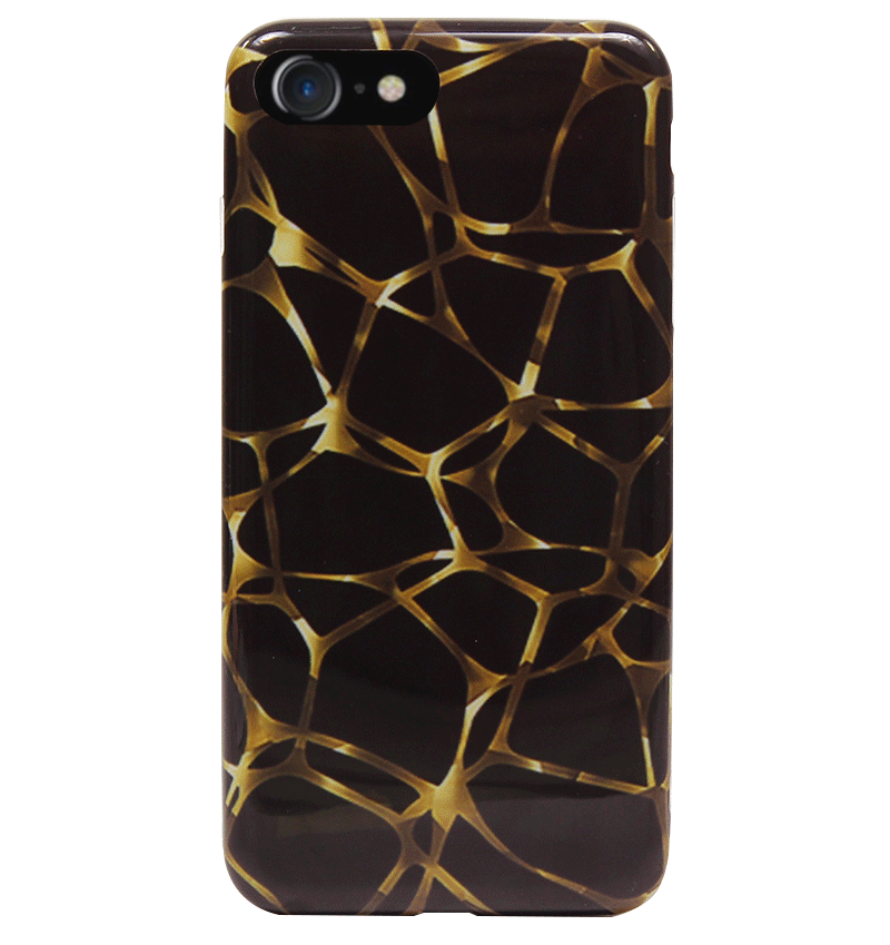 Ốp lưng iPhone 7 Silicon Gold Net
