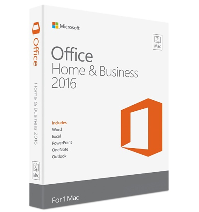 Office for MAC Home Business 2016_W6F-00476