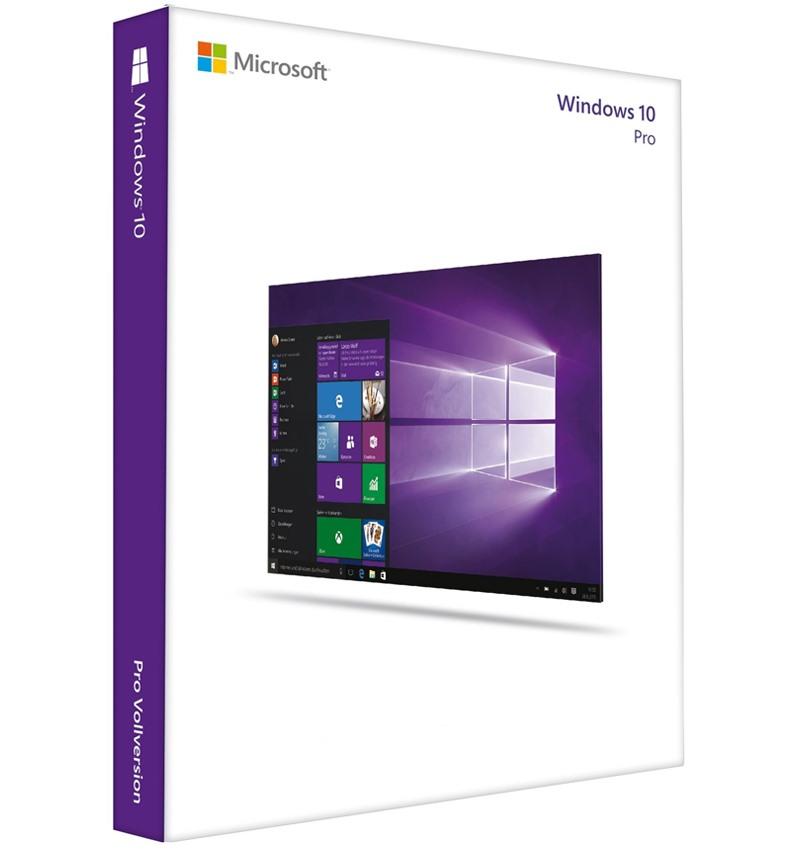 Phần mềm Microsoft Windows 10 Pro 32bit/64bit Eng Intl USB_FQC-08789