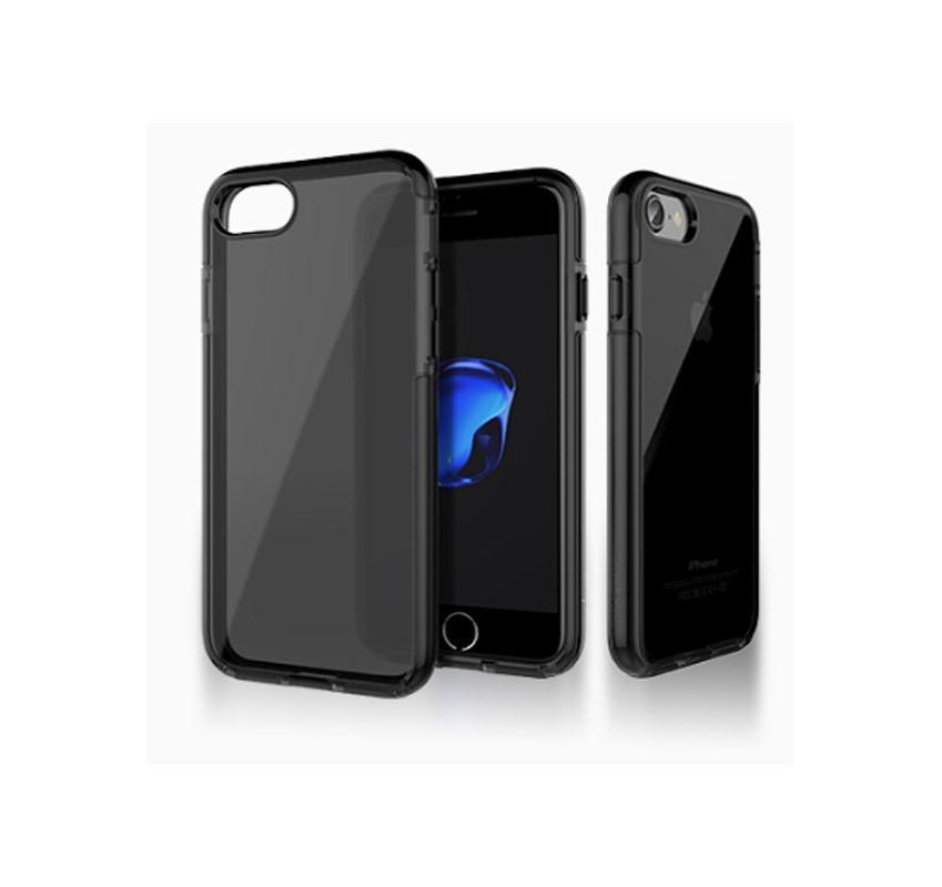 Ốp lưng iPhone 7 Plus Totu Silicon Jet Black