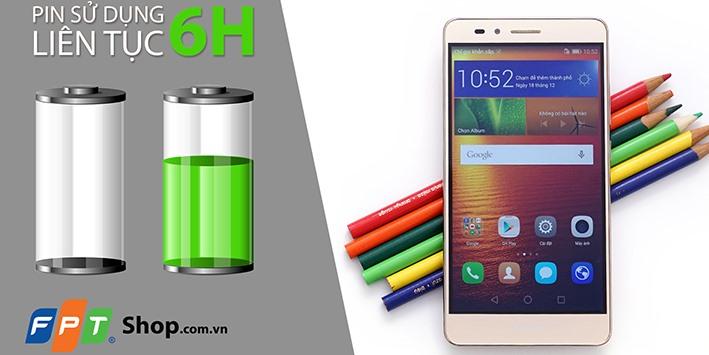 [Video] Đánh giá pin Huawei GR5: 6 giờ liên tục