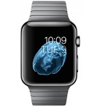 Apple Watch 42mm Space Black Stainless Steel Case with Space Black Link Bracelet MJ482VN/A