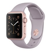 Apple Watch Sport 38mm Rose Gold Aluminum Case with Lavender Sport Band MLCH2VN/A