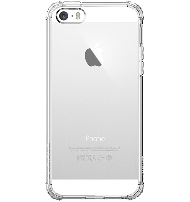 Ốp lưng iPhone 5SE Spigen Crystal Shell - 10174520 , 00007045 , 148_00007045 , 399000 , Op-lung-iPhone-5SE-Spigen-Crystal-Shell-148_00007045 , fptshop.com.vn , Ốp lưng iPhone 5SE Spigen Crystal Shell