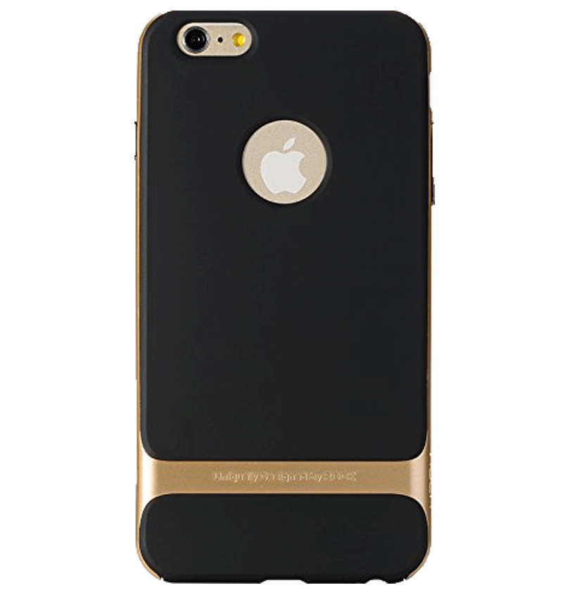 Ốp lưng iPhone 6 Plus Rock Khung Gold