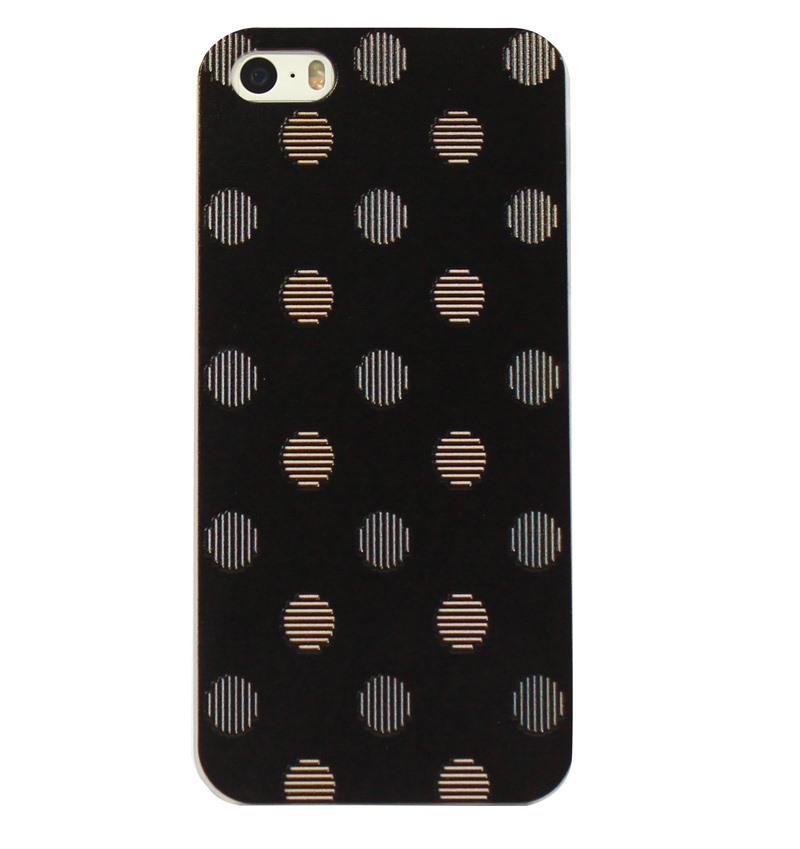 Ốp lưng iPhone 5S/SE Black Scatter