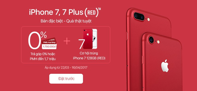 A1 - iPhone 7 (RED)