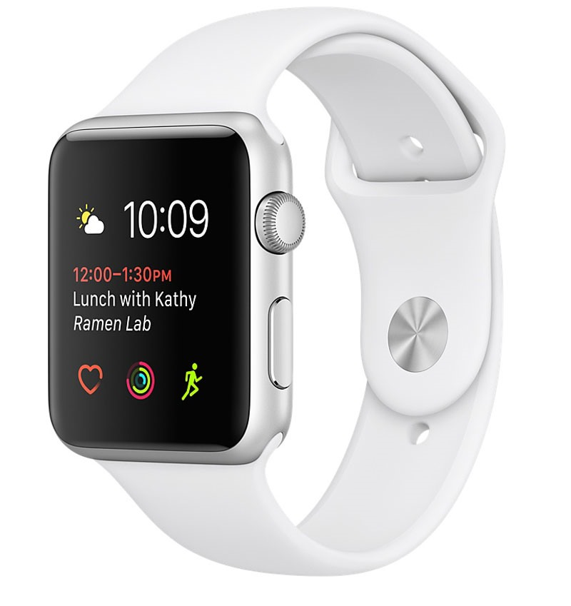 Apple Watch Series 2 38mm Silver Aluminium Case with White Sport Band - 10169961 , 00343827 , 148_00343827 , 0 , Apple-Watch-Series-2-38mm-Silver-Aluminium-Case-with-White-Sport-Band-148_00343827 , fptshop.com.vn , Apple Watch Series 2 38mm Silver Aluminium Case with White Sport Band