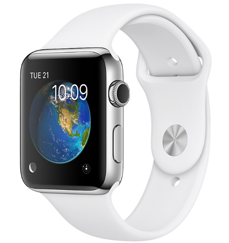 Apple Watch Series 2 38mm Stainless Steel Case with White Sport Band MNP42VN/A - 10169534 , 00383831 , 148_00383831 , 0 , Apple-Watch-Series-2-38mm-Stainless-Steel-Case-with-White-Sport-Band-MNP42VN-A-148_00383831 , fptshop.com.vn , Apple Watch Series 2 38mm Stainless Steel Case with White Sport Band MNP42VN/A