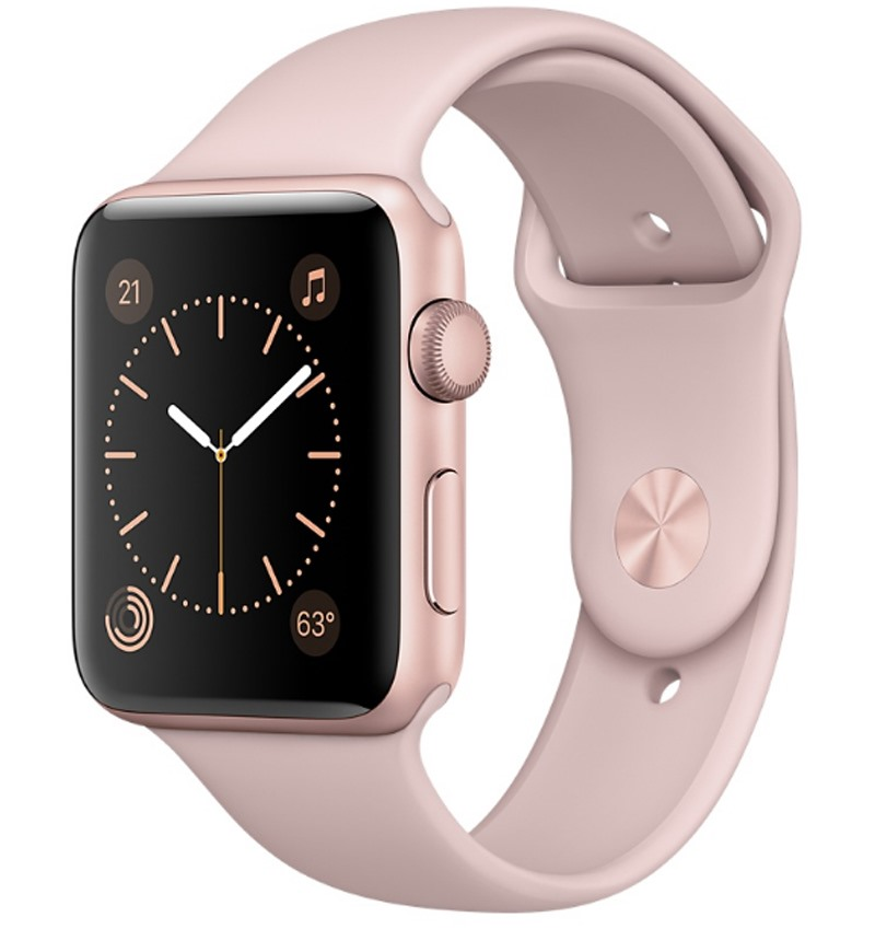Apple Watch Series 2 38mm Rose Gold Aluminium Case with Pink Sand Sport Band MNNY2VN/A - 10169533 , 00383832 , 148_00383832 , 0 , Apple-Watch-Series-2-38mm-Rose-Gold-Aluminium-Case-with-Pink-Sand-Sport-Band-MNNY2VN-A-148_00383832 , fptshop.com.vn , Apple Watch Series 2 38mm Rose Gold Aluminium Case with Pink Sand Sport Band MNNY2VN/A