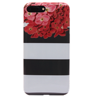 Ốp lưng iPhone 7 Plus Silicon Stripe floral