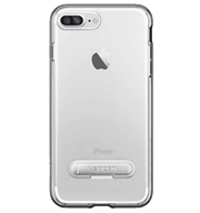Ốp lưng iPhone 7 Plus Spigen Crystal Hybrid Gun Metal