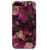 Ốp lưng iPhone 7 Plus Silicon Color Roses