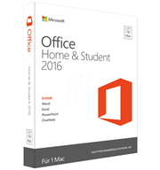 Office for Mac Home Student 2016 (GZA-00645)