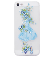 Ốp lưng iPhone 5S/SE Blue Skirt