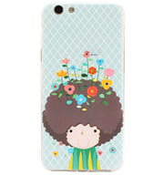 Ốp lưng Oppo F1S Silicon Flower Boy