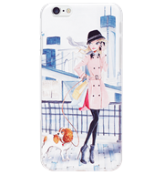 Ốp lưng iPhone 6/6S Girl & Puppy