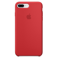PKNK Ốp lưng iPhone 8 Plus/7 Plus Silicon Red MQH12FE/A