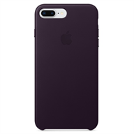 PKNK Ốp lưng iPhone 8 Plus/7 Plus Leather Dark Aubergine MQHQ2FE/A