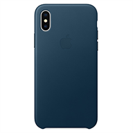 PKNK Ốp lưng iPhone X  Leather Folio Cosmos Blue MQRW2FE/A