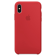 PKNK Ốp lưng iPhone X  Silicon Red MQT52FE/A
