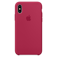 PKNK Ốp lưng iPhone X  Silicon Rose Red MQT82FE/A