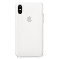 PKNK Ốp lưng iPhone X  Silicon White MQT22FE/A