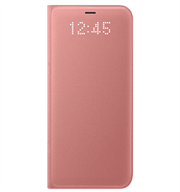 Bao da Samsung S8 Led View Pink