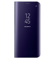 Bao da Samsung S8 Plus Clear View Standing Violet