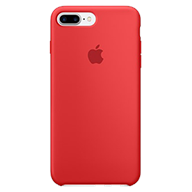 PKNK Ốp lưng iPhone 7 Plus/ 8 Plus Silicon Red MMQV2FE/A