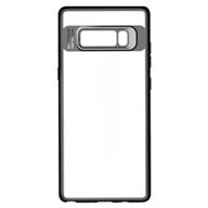 Ốp lưng Samsung Note 8 Rock viền màu Black