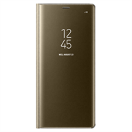 Bao da Samsung Note 8 Clear View Standing Gold