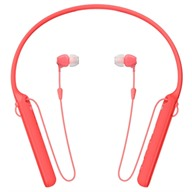 Tai nghe Bluetooth SONY WI-C400 red