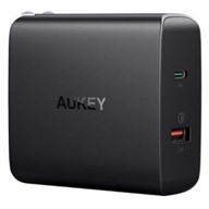 Adapter Sạc 2 cổng QuickCharge Aukey PA-Y11 Đen
