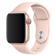 Apple Dây đeo Apple Watch 40mm cao su hồng