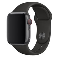Apple Dây đeo Apple Watch 44mm cao su đen