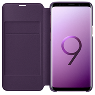 Bao da Samsung S9 Plus Led View Violet