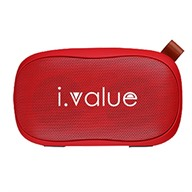 Loa bluetooth i.value B117 red