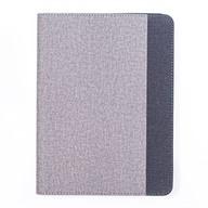 Bao da nắp gập Ipad 2018 Nhựa cứng viền dẻo Match Color Cover Meetu Đen