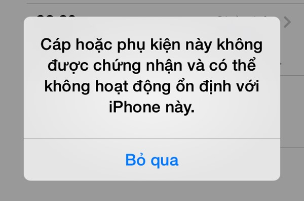 loi iphone 5s khong ket noi voi itunes
