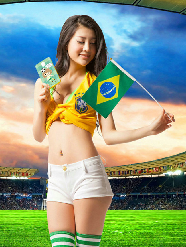 Vỏ smartphone in hình World Cup