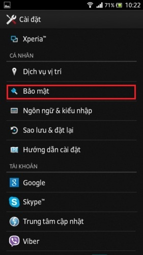 Flash Player cho điện thoại Android
