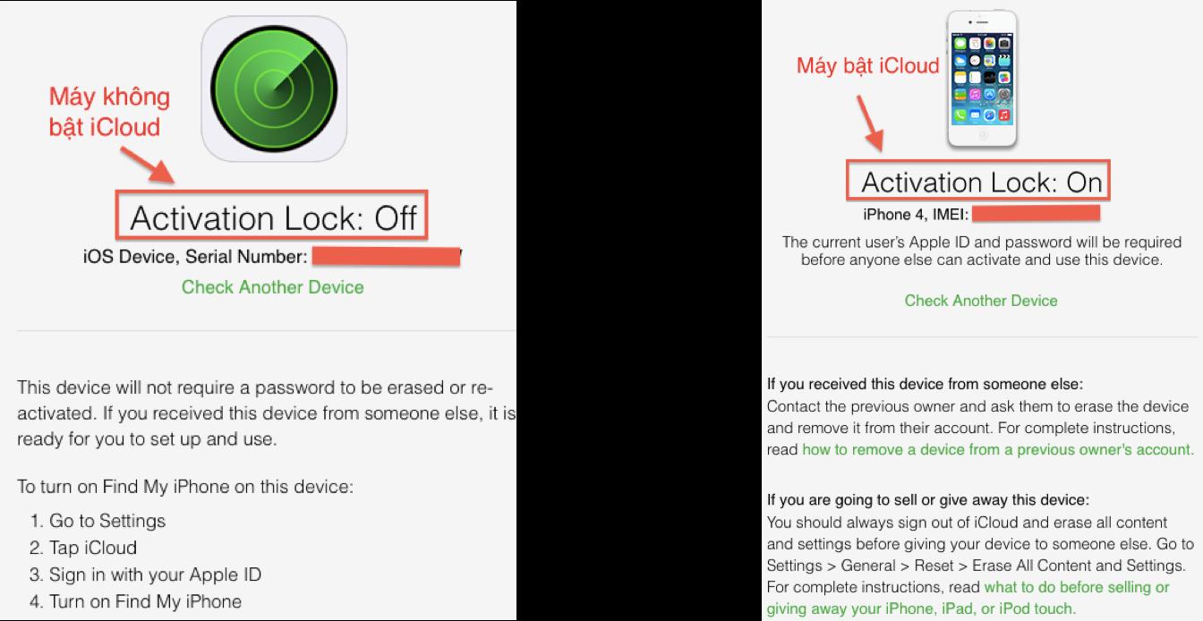 Các bước kiểm tra iCloud trên iPhone trước khi mua - FPTShop com vn