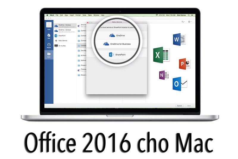 Tải Office 2016 Preview cho Macbook