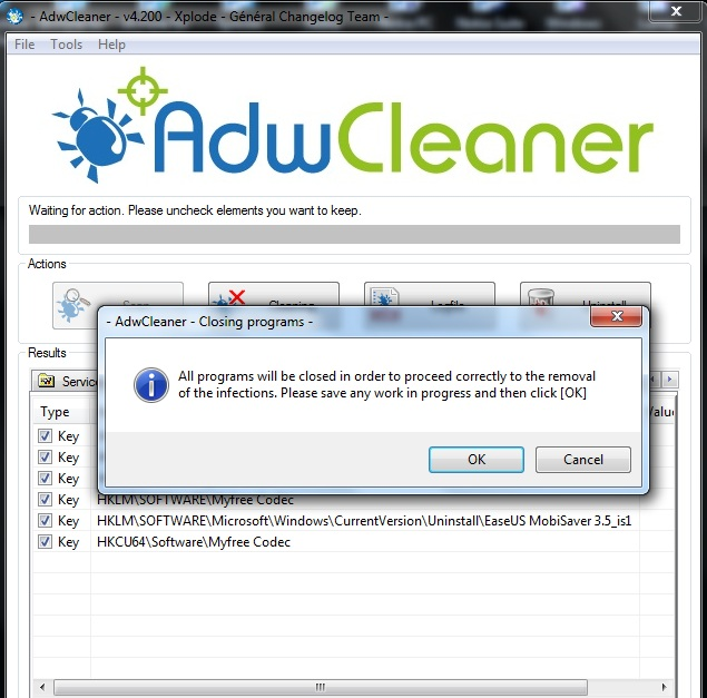 cleaner addon